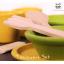 ของเล่นไม้เสริมพัฒนาการเด็ก Tableware Set สีเหลือง-เขียว (ส่งฟรี) thumbnail 2