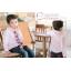 เสื้อผ้าเด็ก ชุดเด็กขายส่ง : เสื้อเชิ้ตเด็กผู้ชาย สีขาว ชมพู ฟ้า thumbnail 11