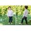 เสื้อผ้าเด็ก ชุดเด็กขายส่ง : เสื้อเชิ้ตเด็กผู้ชาย สีขาว ชมพู ฟ้า thumbnail 10