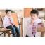 เสื้อผ้าเด็ก ชุดเด็กขายส่ง : เสื้อเชิ้ตเด็กผู้ชาย สีขาว ชมพู ฟ้า thumbnail 13