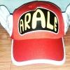 หมวก อาราเล่ (Arale) ติดปีก สีแดงเข้ม (เด็ก)