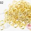 ห่วงทำสร้อย สีทอง 5มิล (20 กรัม)
