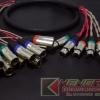 Multilink XLR(F) x6 >>> XLR(M) x12 ยาว 1.5 เมตร