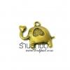 จี้ทองเหลืองรูปช้าง ขนาด 15 มิล ยาว 15 มิล ราคา 10 บาท