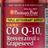 Puritan Q-SORB Co Q-10, Resveratrol & Grapeseed 60 Rapid Release Softgels รวมสารสกัดตัวท๊อป บำรุงผิว ลดริ้วรอย จุดด่างดำ พร้อมบำรุงสุขภาพหัวใจในหนึ่งเดียว