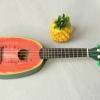"""อูคูเลเล่ Ukulele Kaka รุ่น Water melon Soprano 21"""" Bass wood สาย Aquila แถมกระเป๋า"""