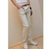 กางเกงแฟชั่น สไตล์เกาหลี สีขาว