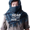 ผ้าพันคอชีมัค : สีฟ้าน้ำทะเล