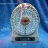 พัดลมแรงสูง แบบชาร์จไฟและใช้ไฟฟ้า ขนาดเล็กสำหรับพกพา