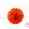 บอลเพชร เกรดดี 10 มิล สีส้ม