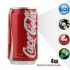 กระป๋องโค้กแคนสายลับ Coca-Cola Spy Camera ซ่อนกล้องวิดีโอรูเข็ม พร้อมเมมโมรี่ภายใน 4 GB ถ่ายต่อเนื่อง 15 ชม.