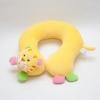 หมอนเด็ก Neck pillow หมอนรองคอ หมอนหน้าสัตว์ หมอนหน้าเสือ สีเหลือง (ส่งฟรี)
