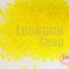 ลูกปัด Miyuki สีเหลืองด้าน #136F 2มิล(10กรัม)