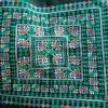 ผ้าปักคลุมหัวเจ้าสาว ลายโบราณ+ลายประยุกต์ ผืนสี่เหลี่ยมสีโทนเขียว