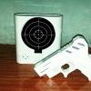 นาฬิกาปลุกยิงปืน สีขาว (ซื้อ 3 ชิ้น ราคาส่ง 450 บาท/ชิ้น)