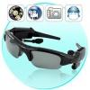 สุดยอดแว่นกันแดดสายลับ Spy Glasses 5in1 Hidden Camera + Video Recorder + MP3 Player + Bluetooth + Sunglasses 2GB Free Mem Card (Pre Order)