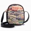 พร้อมส่ง กระเป๋า beibaobao สีดำ ใบเล็ก ลายพิมพ์เก๋ๆ แบบน่ารัก น่าใช้มากค่ะ