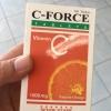 C-FORCE 1000MG วิตามินซี 1000มก. เสริมสร้างภูมิคุ้มกัน ป้องกันภูมิแพ้ ไม่เป็นหวัดง่าย