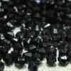 คริสตัลพลาสติก สีดำ 4มิล (1ขีด/100กรัม)