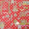ผ้าคอตตอนลินินญี่ปุ่น ของ YUWA ลายสวน สีหวานน่ารักมากค่ะ มี 2 สี เนื้อผ้าบางเหมาะสำหรับงานผ้าทุกชนิด