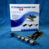 PCI USB 2.0 Card 5 Ports (เพิ่มพอร์ต USB 2.0)