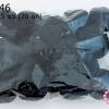 ปอมปอมไหมพรม สีดำ 3.5 ซม. (20 ลูก)