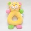 ของเล่นเสริมพัฒนาการ Rattle ตุ๊กตามือจับ หน้าเสือ สีเหลือง เขย่าแล้วมีเสียงกุ๊งกิ๊ง ใช้เป็น ของเล่นเด็ก ของเล่นเสริมทักษะ (ส่งฟรี)