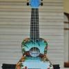 """อูคูเลเล่ Ukulele Waikiki Hawai Bass Wood สาย Aquila Soprano 21"""" ฟรีกระเป๋า"""