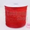 หนังชามัวร์(หนังแบน) สีแดง No.9 100หลา(1ม้วน)