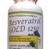 Ivory Resveratrol Gold 1250 mg 60 แคปซูล (USA) สารสกัดจากองุ่นแดงเข้มข้นที่สุด
