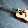 กีต้าร์โปร่ง ไฟฟ้า Guitar KaSound Top Solid Spruce
