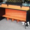 """โต๊ะคอมต่างระดับ """"เมลามีน"""" 120 ซม."""