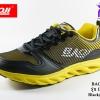 ผ้าใบวิ่ง BAOJI บาโอจิ รุ่น DK99349 สีดำเหลือง เบอร์ 41-45