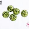 บอลเพชร เกรดดี 10 มิล สีเขียวขี้ม้าอ่อน (1ชิ้น)