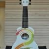 """อูคูเลเล่ Ukulele Waikiki Rainbow Bass Wood สาย Aquila Soprano 21"""" ฟรีกระเป๋า"""