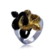แหวนงู vintage jewelry Lucky Snake ring.
