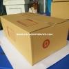กล่องไปรษณีย์ฝาชน เบอร์D (ง) ขนาด22x35x14 เซนติเมตร