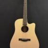 กีต้าร์โปร่ง ไฟฟ้า Electrical Guitar Sen custom D-10SC Top solid spruce