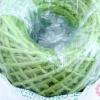 เชือกป่านย้อมสี สีเขียว #28 เส้นเล็ก (1ม้วน)