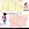 ผลงานออกแบบป้าย ตารางเทียบไซต์ Sevendaypreshop เสื้อคู่รัก ชุดครอบครัว งานในไทยคะ สนใจออกแบบ ป้าย 085-022-4266