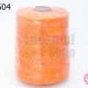เชือกเทียน ตราน้ำเต้า สีส้ม #915 (1ม้วน)