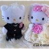 พร้อมส่ง :: ตุ๊กตาแต่งงาน Kitty เซ็ตคู่ size 22 cm