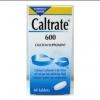 Caltrate 600 แคลเทรด 600 ผลิตภัณท์เสริมแคลเซียม บรรจุ120เม็ด ดูแลกระดูก
