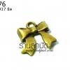 จี้ทองเหลือง รูปโบว์ 16X17 มิล (1ชิ้น)