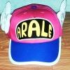 หมวก อาราเล่ (Arale) ติดปีก สีชมพู กับน้ำเงิน (มาใหม่) (ซื้อ 6 ชิ้นราคาส่ง 150 บาท)