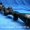 กล้องติดปืน (Scope) Bushnell 3-9x40EG