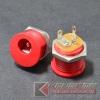 แจ๊ค DC022M ขนาดรู5.5x2.1mm RED(10pcs)