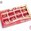 ด้ายเย็บผ้า ตราVENUS สีแดง (1กล่อง/12ม้วน)