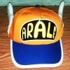 หมวก อาราเล่ (Arale) ติดปีก สีส้ม กับน้ำเงิน (มาใหม่) (ซื้อ 6 ชิ้นราคาส่ง 150 บาท)