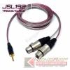 JSL192 TRS3.5/XLR(F)x2